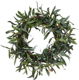 OKA Faux Olive Wreath, Small
