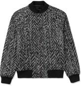 Kris Van Assche KRISVANASSCHE Black Varsity Jacket