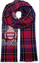 Gucci Tartan Wool Scarf