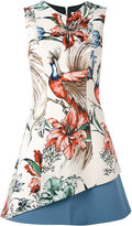 Fausto Puglisi patterned dress - women - Silk/Spandex/Elastane/Acetate/Viscose - 38