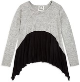 Ppla Girls' Colorblock Pullover Sweater - Sizes S-L