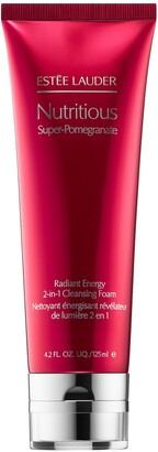 Estee Lauder Nutritious Super-Pomegranate Radiant Energy 2-in-1 Cleansing Foam