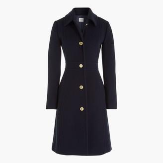 J.Crew Wool-blend lady coat