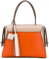 Tod's contrast tote bag - women - Leather - One Size