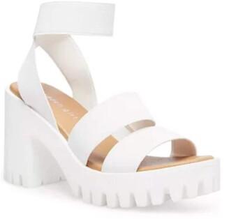 Madden-Girl Women's SOHOO Heeled Sandal