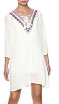 Umgee USA Embroidered A-Line Dress