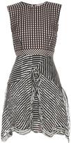 Preen by Thornton Bregazzi Ellie silk-georgette gingham dress