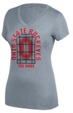 Top of the World Ohio State Buckeyes Women's Grand Slam Stainglass T-Shirt