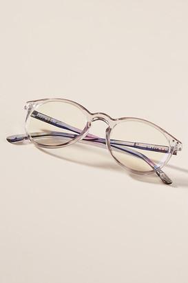 Zigi + MARAiS Beth Rounded Reading Glasses By & MARAiS in Blue Size ALL