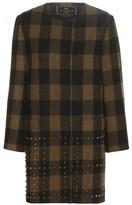 Etro Plaid Wool Coat