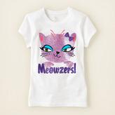 Children's Place Meowzers graphic tee