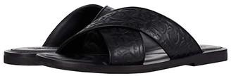 Salvatore Ferragamo Sion 2 Sandals (Black) Men's Shoes