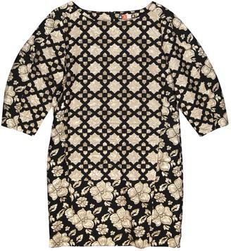 MSGM Gold Cotton Dresses