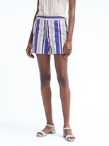 Banana Republic Ryan-Fit Side-Button Stripe Short