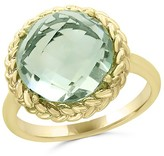 Bloomingdale's Green Amethyst Statement Ring in 14K Yellow Gold - 100% Exclusive