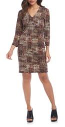 Karen Kane Print Sheath Dress
