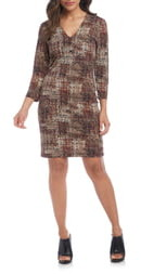 Karen Kane Print Sheath Dress