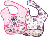 Bumkins Minnie Mouse Superbib - Set of Two