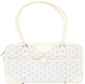 Goyard White Cloth Handbags