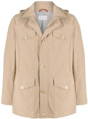 Brunello Cucinelli Flap Pocket Zip-Up Jacket
