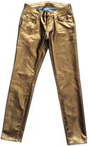 Kate Spade new york Broome Street Metallic Denim Jean
