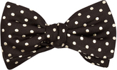 Alexander McQueen Polka-dot silk bow tie