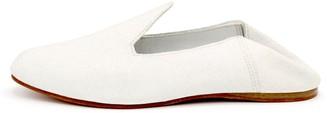 La Babouche Loafer Slip-On White