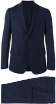 Caruso slim-cut suit - men - Cupro/Wool/Bemberg - 48
