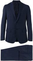 Caruso slim-cut suit - men - Wool/Cupro/Bemberg - 48