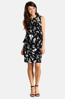 Donna Morgan D3121M Sleeveless Floral Popover Dress