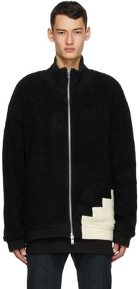 Cornerstone Black Wool Fleece Jacket