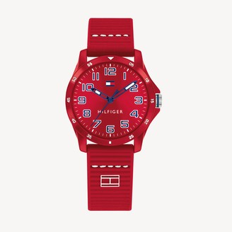 Tommy Hilfiger TH Kids Red Watch With Silicone Strap