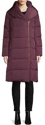Cole Haan Portrait Collar Puffer Coat