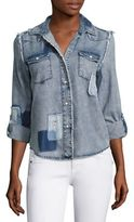 Generation Love Clarke Patch Denim Shirt