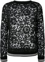 Valentino lace top - women - Cotton/Viscose/Polyamide - S