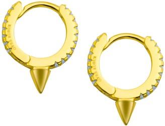 Opes Robur Mini Spiked Hoop Earrings