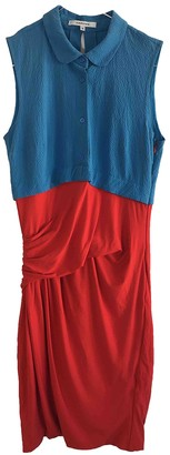 Carven Red Viscose Dresses