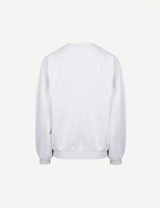 Anine Bing Ramona graphic-print cotton-jersey sweatshirt