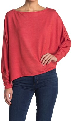 Go Couture Slouchy Dolman Sleeve Sweater