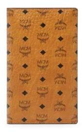 MCM Men's Visetos Original Wallet - Cognac