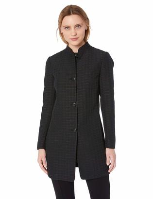 Anne Klein Women's Houndstooth Topper Jacket