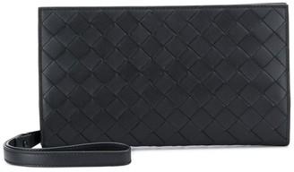 Bottega Veneta Woven Style Rectangular Clutch Bag