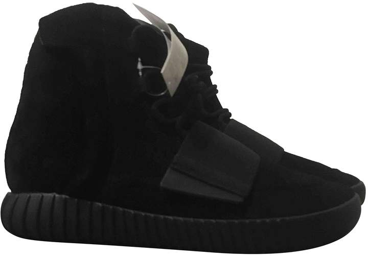 Yeezy X Adidas Boost 750 Black Leather Boots