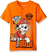 Nickelodeon Little Boys' Toddler Paw Patrol Short Sleeve Character T-Shirt