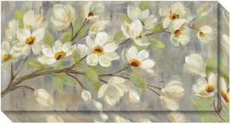 Amanti Art April Branch Magnolias Canvas Wall Art