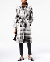 Max Mara Karman Check-Print Reversible Raincoat