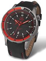 Vostok Europe Anchar Automatic Titanium Men's Watch Red and - 3 Straps NH35A/5107171
