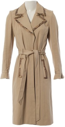 Valentino Beige Cotton Trench Coat for Women