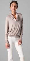 Long Sleeve Cowl Turtleneck Sweater