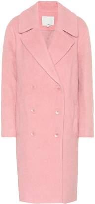 Tibi Mohair-blend coat